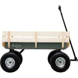 The Beach People Beach Cart, Olive Green