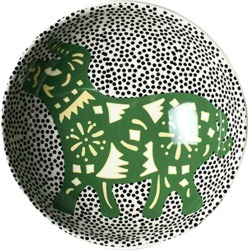 Coton Colors Chinese Zodiac Bowl Accent Bowl, Ox