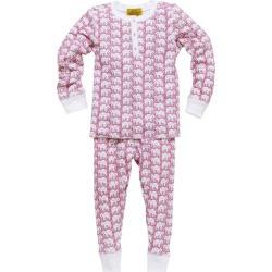 Roller Rabbit Kids Hathi Pajamas, Pink found on Bargain Bro India from maisonette.com for $65.00