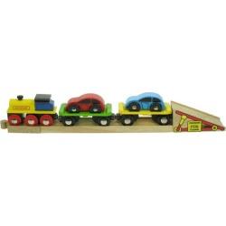 Bigjigs Toys Car Loader