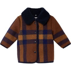 Bobo Choses Baby Checker Jacket, Plaid