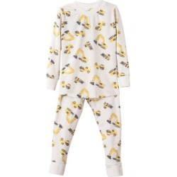 Sunny with an A Construction Trucks Pajama Set found on Bargain Bro India from maisonette.com for $48.00