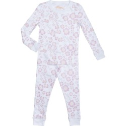 Petidoux Dogwood & Dragonflies Long Pajamas, Pink found on Bargain Bro India from maisonette.com for $55.00