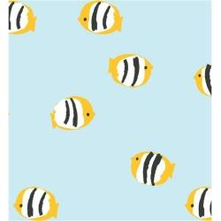 WallShoppe Rosa Fish Removable Wallpaper, Sky found on Bargain Bro Philippines from maisonette.com for $70.00