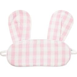 Petite Plume Pink Gingham Bunny Eyemask found on Bargain Bro India from maisonette.com for $16.00