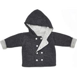 Petidoux Baby Alpaca Jacket, Grey