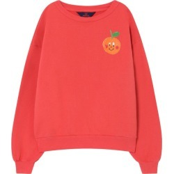 The Animals Observatory Bear Sweatshirt, Red Fruit