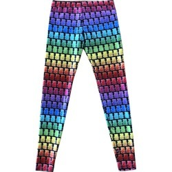Terez Gummy Bear Legging, Black Multi