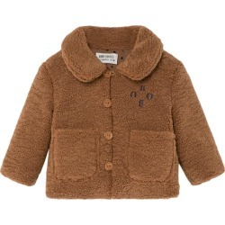 Bobo Choses Baby Bobo Sheepskin Jacket, Brown