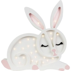 Little Lights Bunny Lamp, White found on Bargain Bro India from maisonette.com for $220.00