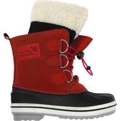 Muddy Puddles Snowdrift Snow Boots, Red