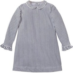 Petite Plume Navy Bengal Striped Sophia Nightgown found on Bargain Bro India from maisonette.com for $48.00