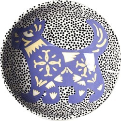 Coton Colors Chinese Zodiac Bowl Accent Bowl, Dog