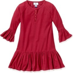 Petite Plume Burgundy Arabella Nightgown found on Bargain Bro India from maisonette.com for $38.50