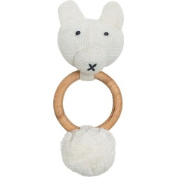 Zestt Organics Organic Cotton Bear Rattle