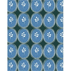 WallShoppe Ciao Cilantro Traditional Wallpaper, Blue found on Bargain Bro Philippines from maisonette.com for $179.00