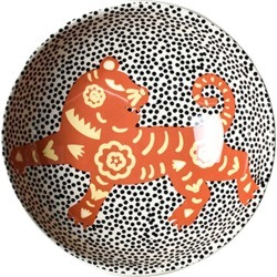 Coton Colors Chinese Zodiac Bowl Accent Bowl, Tiger