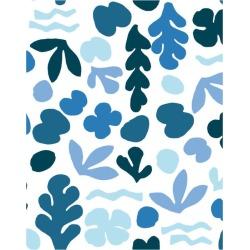 WallShoppe Sea Garden Traditional Wallpaper, Blue found on Bargain Bro Philippines from maisonette.com for $179.00