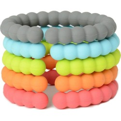 Chewbeads Silicone Links, Rainbow found on Bargain Bro Philippines from maisonette.com for $14.00