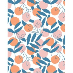 WallShoppe Citrus Traditional Wallpaper, Coral found on Bargain Bro Philippines from maisonette.com for $179.00