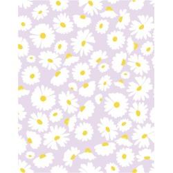 WallShoppe Pop Daisy Removable Wallpaper, Lavender found on Bargain Bro Philippines from maisonette.com for $70.00