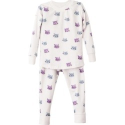 Sunny with an A Cats & Clouds Pajama Set found on Bargain Bro India from maisonette.com for $48.00
