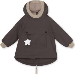 Mini A Ture Baby Wen Waterproof Oeko-Tex Jacket, Licorice