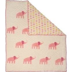 Naaya by Moonlight Pink elephant Organic Quilt