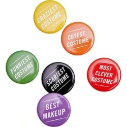 Cheree Berry Paper Halloween Costume Prize Buttons