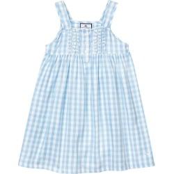 Petite Plume Light Blue Gingham Charlotte Nightgown found on Bargain Bro India from maisonette.com for $48.00