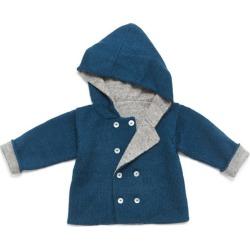 Petidoux Baby Alpaca Jacket, Blue