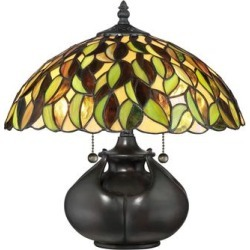 Quoizel Greenwood 14 Inch Table Lamp - TF3181T found on Bargain Bro India from Capitol Lighting for $259.99