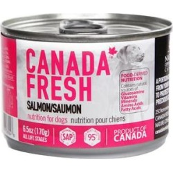 Canada Fresh Salmon Canned Dog Food, 6.5-oz, case of 24 found on Bargain Bro India from Chewy.com for $54.96