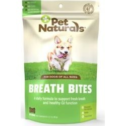 Pet Naturals of Vermont Breath Bites Dog Chews, 60 count