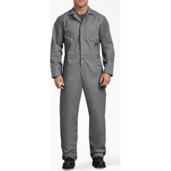 Dickies Men's Big & Tall Deluxe Blended Long Sleeve Coveralls - Gray Size S (48799) found on Bargain Bro Philippines from Dickies.com for $49.99