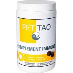 PET TAO Complement Immune Dog & Cat Supplement, 16.9-oz jar found on Bargain Bro India from Chewy.com for $74.99