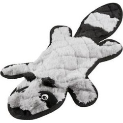 Frisco Flat Plush Squeaking Raccoon Dog Toy found on Bargain Bro Philippines from Chewy.com for $4.99