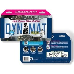 Dynamat 19100 License Kit for License Plate Frame found on Bargain Bro Philippines from Crutchfield for $12.99