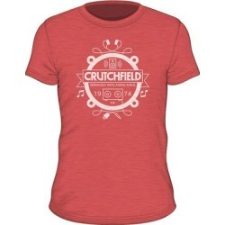 SS Crutchfield Camp Red XXXL Short- Sleeved Camp T-shirt Red XXXL found on Bargain Bro India from Crutchfield for $15.00