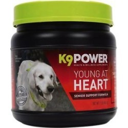 K9 POWER Young At Heart Nutritional Senior Dog Supplement, 1-lb jar found on Bargain Bro India from Chewy.com for $17.49
