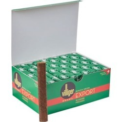 Villiger Export Cigarillos - Brasil - BOX (50) found on Bargain Bro India from thompsoncigar.com for $60.95