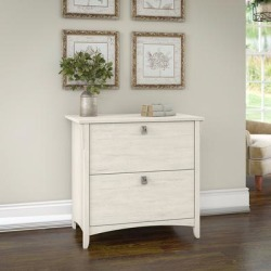 Bush Furniture SAF132AW-03 - Salinas Lateral File Cabinet in Antique White found on Bargain Bro India from totally furniture for $173.79
