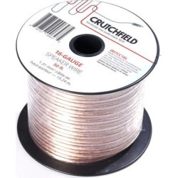 Crutchfield 16 Gauge Wire 50 Foot Roll found on Bargain Bro India from Crutchfield for $24.99