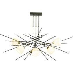 Hubbardton Forge Griffin 63 Inch 6 Light Multi Light Pendant - 137750-1018 found on Bargain Bro Philippines from Capitol Lighting for $2610.00