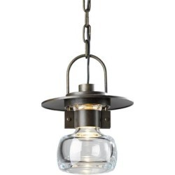 Hubbardton Forge Mason 10 Inch Tall 1 Light Outdoor Hanging Lantern - 363003-1007 found on Bargain Bro Philippines from Capitol Lighting for $980.00