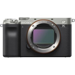 Sony Alpha 7C Full Frame Mirrorless Camera Body Only- Silver found on Bargain Bro India from Crutchfield for $1798.00