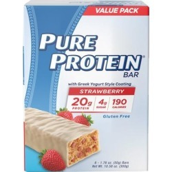 Pure Protein Pure Protein Strawberry Greek Yogurt-6 Bars