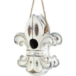 Zingz & Thingz Fleur De Lis Bird House found on Bargain Bro from Chewy.com for USD $22.03