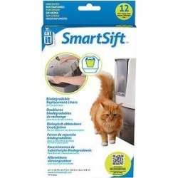 Catit Design SmartSift Biodegradable Replacement Liners, For cat pan base found on Bargain Bro India from Chewy.com for $3.74