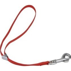 Coastal Pet Products Adjustable Nylon Dog Grooming Loop, Red, 18-in, 3/8-in